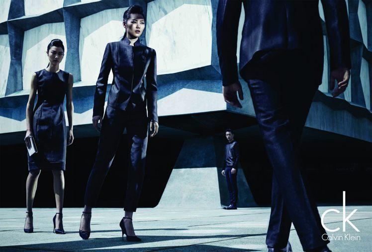 ck Calvin Klein秋季廣告。圖/Calvin Klein提供