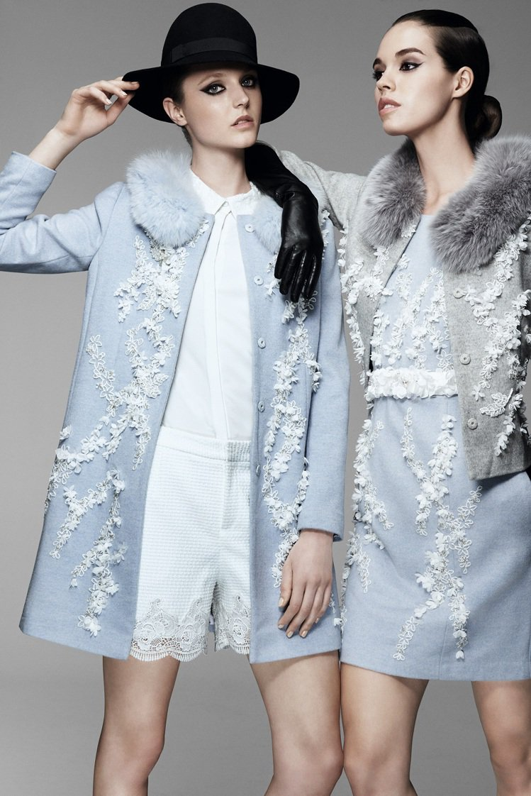 MOISELLE以俄式奢華展現秋冬時尚。圖/MOISELLE提供