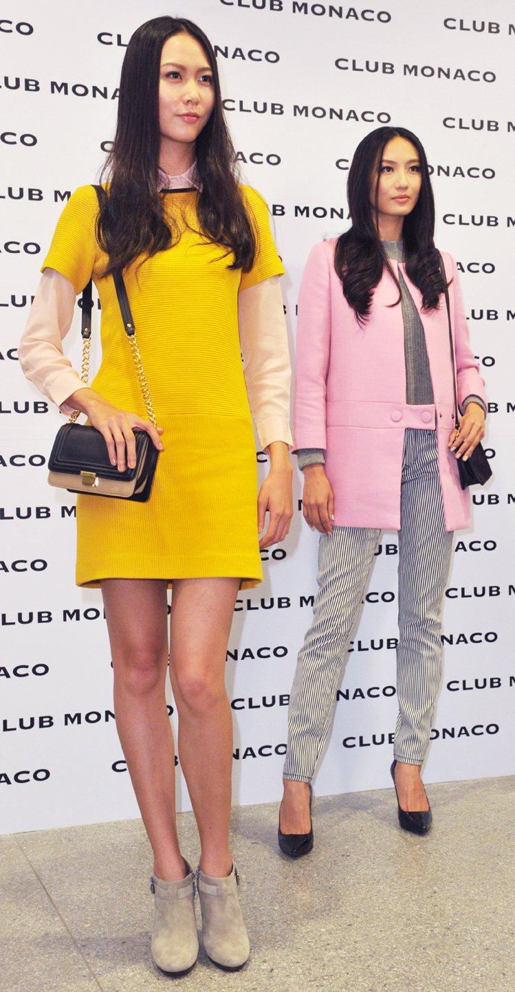 CLUB MONACO 2013秋冬發表會。記者陳正興/攝影