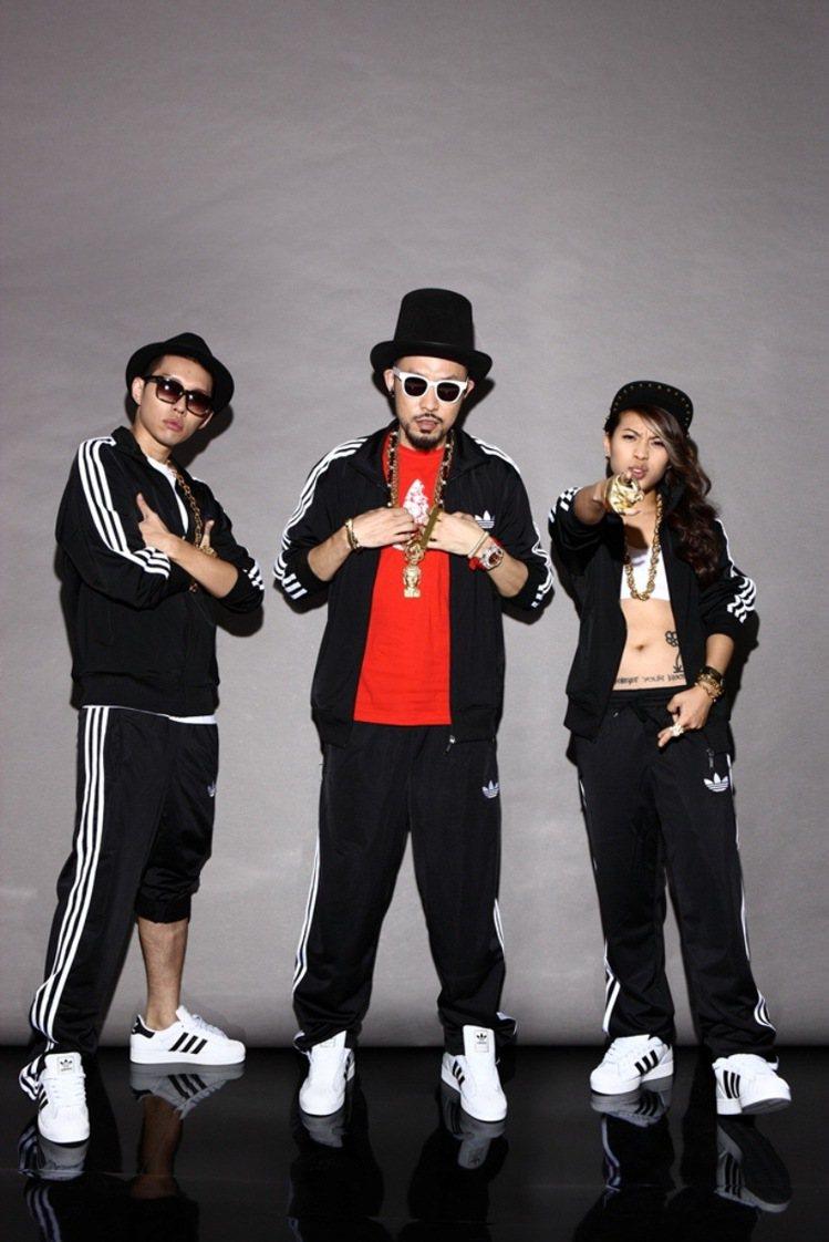 adidas Originals有請台灣饒舌歌手打造專屬單曲。圖/adidas ...