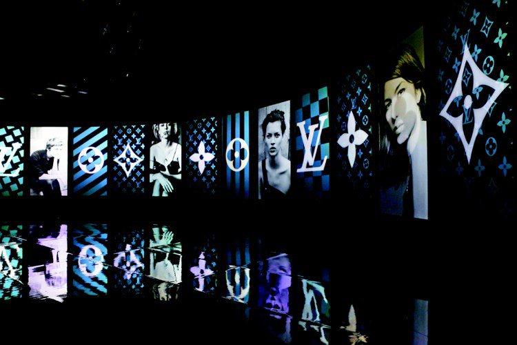 LV於東京車站旅館舉辦「TIMELESS MUSES(永恆的繆斯女神)」特展。圖...