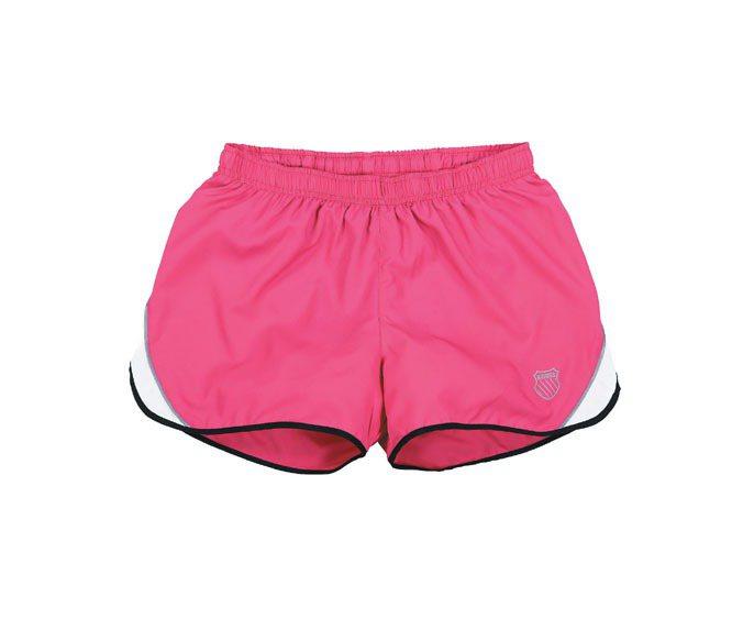K-SWISS在慢跑短褲上加入抗UV機能。圖/K-SWISS