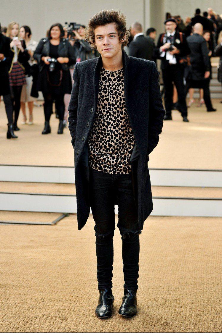 一世代的Harry Styles 。圖/BURBERRY提供