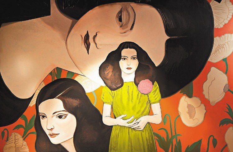 PRADA大秀邀請6位墨西哥壁畫家、插畫家參與秀場創作。圖/PRADA提供