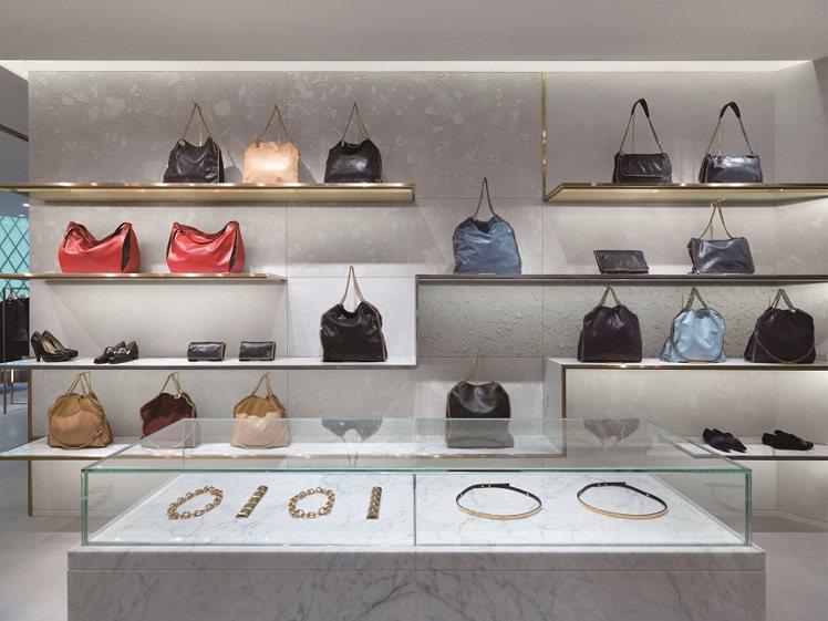 Stella McCartney 新光三越A4二樓設立首間專賣店,更多齊全的商品...