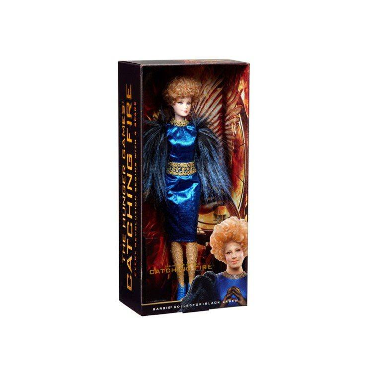 「飢餓遊戲」艾菲芭比娃娃面世。圖/獅門提供
