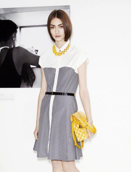 Louis Vuitton 2014年「ICONES」系列,所有的服裝單品都以滿...