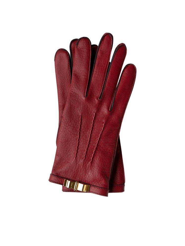 BURBERRY金釦手套,NT 22,000。圖/BURBERRY提供