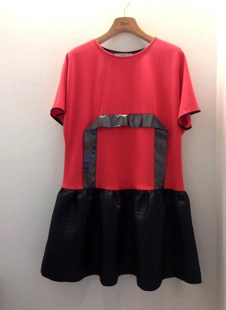Dleet秋冬以「衣櫥裡的祕密」 為主題,玩起材質光影變化,金屬色元素與黑、紅、...