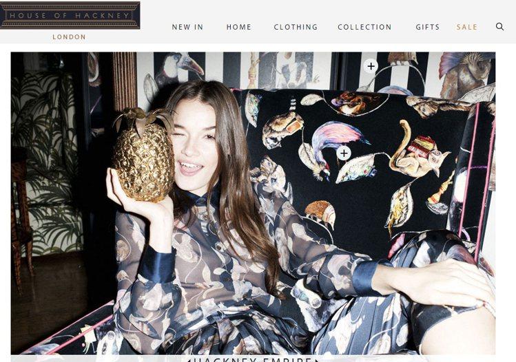 跨越服裝、生活物品、室內設計的 House of Hackney,設計風格很多是...