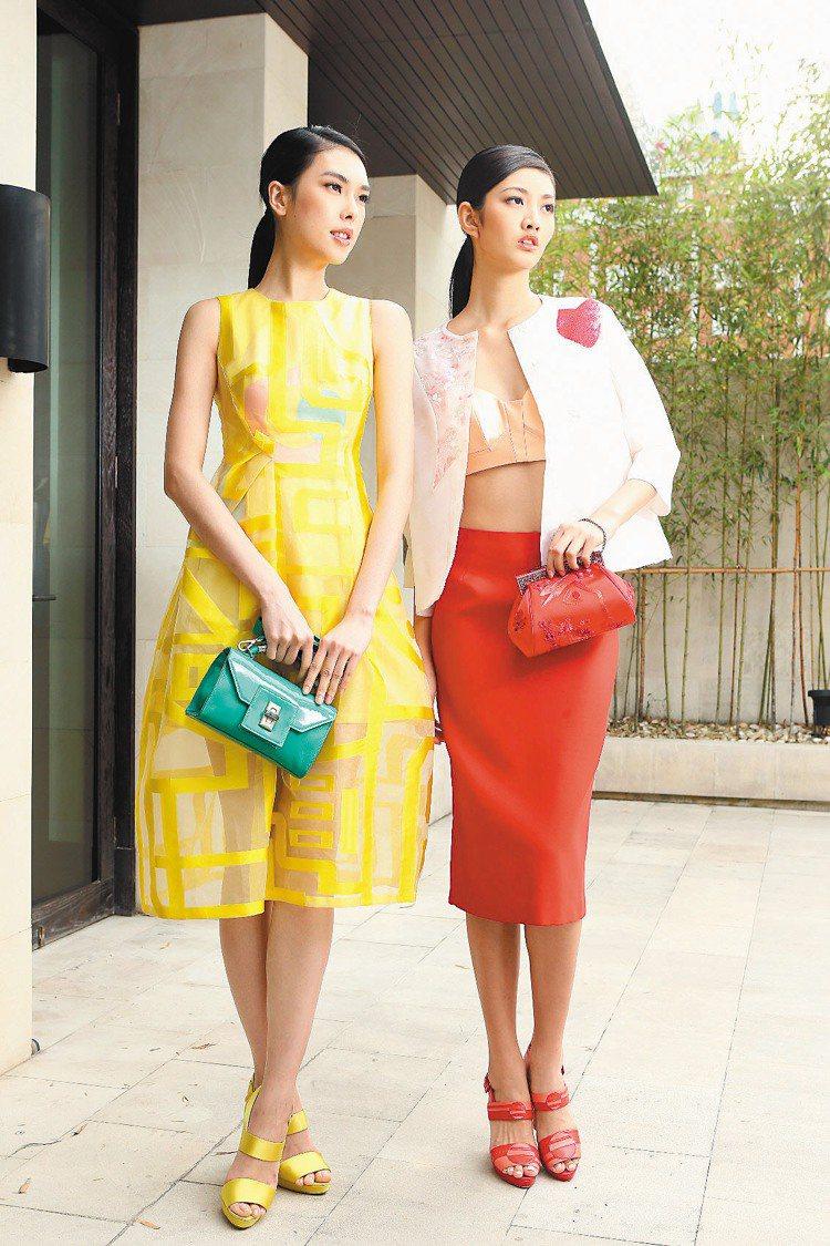 夏姿舉辦2014春夏發表。記者陳立凱/攝影