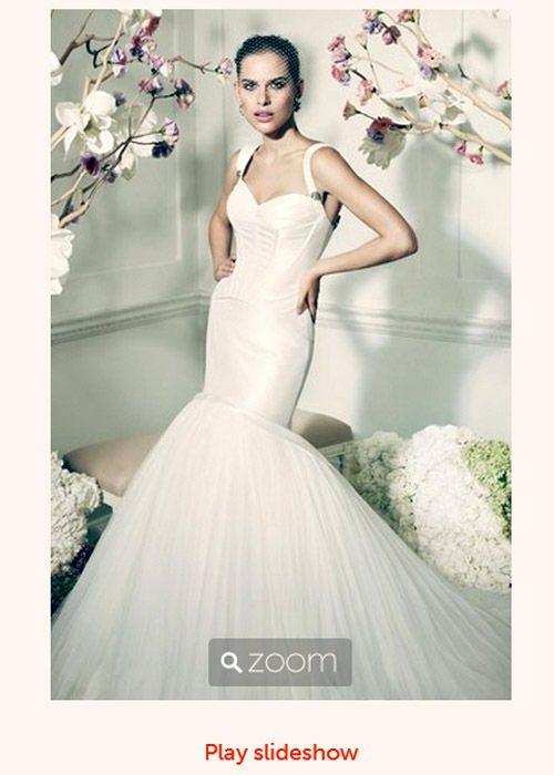 David's Bridal 新推出的婚紗系列請到了時尚大師 Zac Posen...