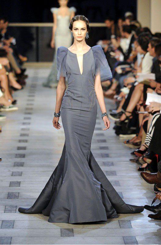 Zac Posen 設計的禮服一件動輒就要十萬塊以上。圖/達志影像