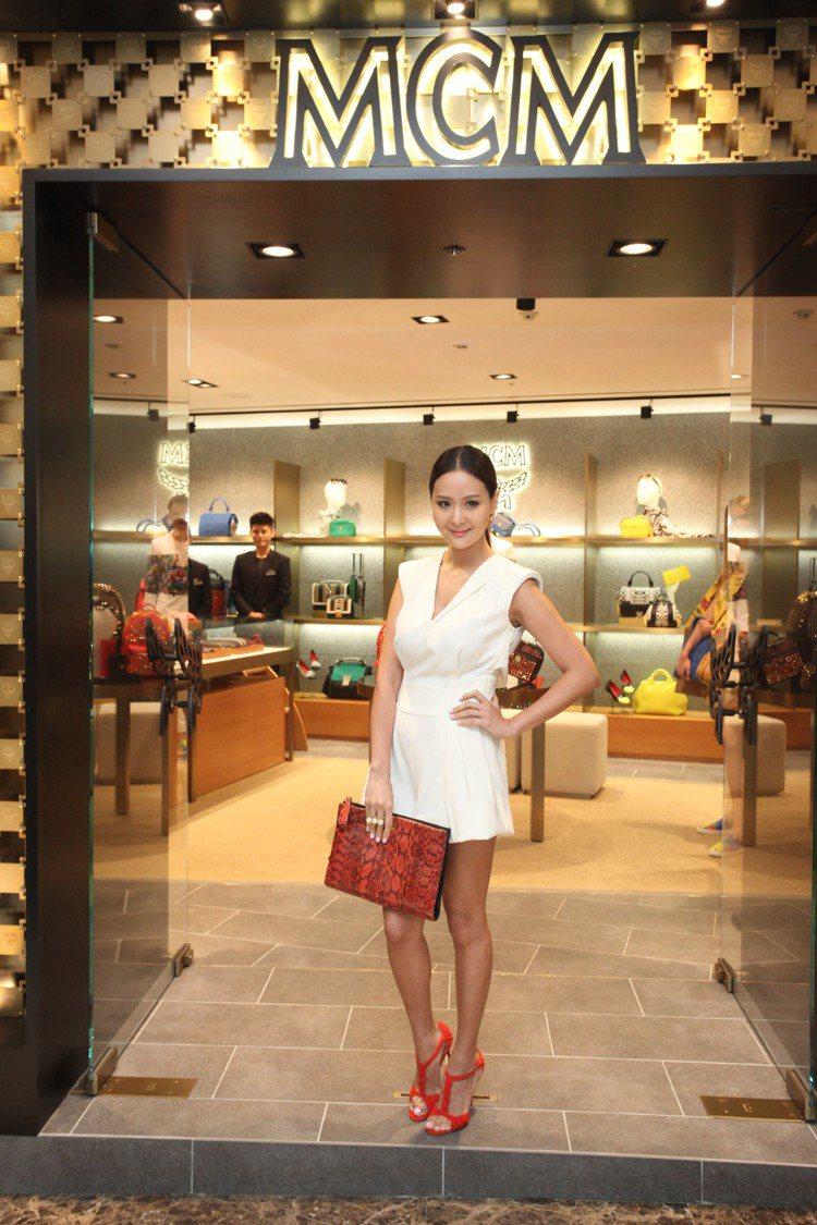 深受韓星和好萊塢明星喜愛的德國精品MCM於台灣的首間店,昨天正式於微風廣場開幕。...