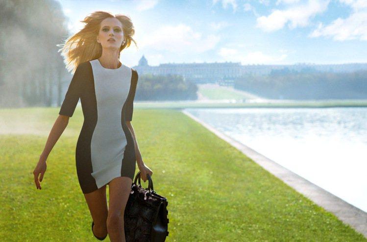 Dior秘密花園形象廣告一窺凡爾賽宮秘密及2014早秋系列女裝和鞋包。圖/Dio...