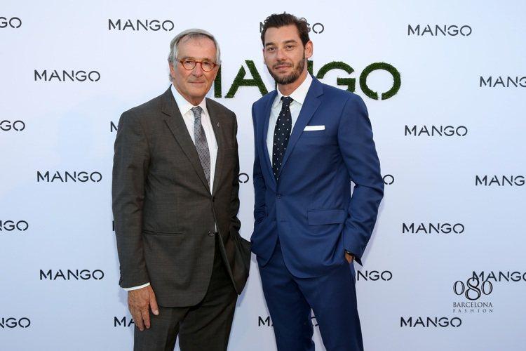 MANGO副董事Jonathan Andic(右)和巴塞隆納市長Xavier T...