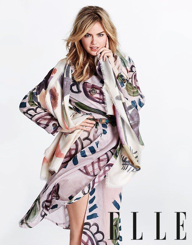 凱特阿普頓在ELLE雜誌專訪中,分享她追求完美身材的心路歷程。圖/摘自ELLE官...