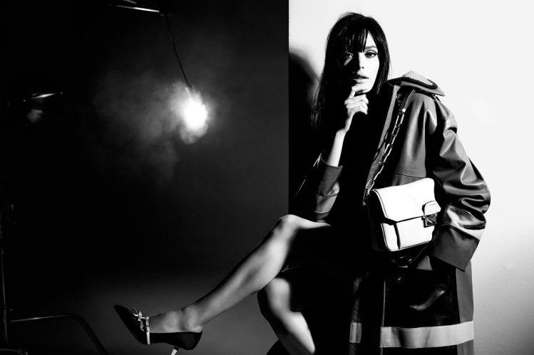 史黛西馬汀入鏡MIU MIU秋冬廣告。圖/MIU MIU提供