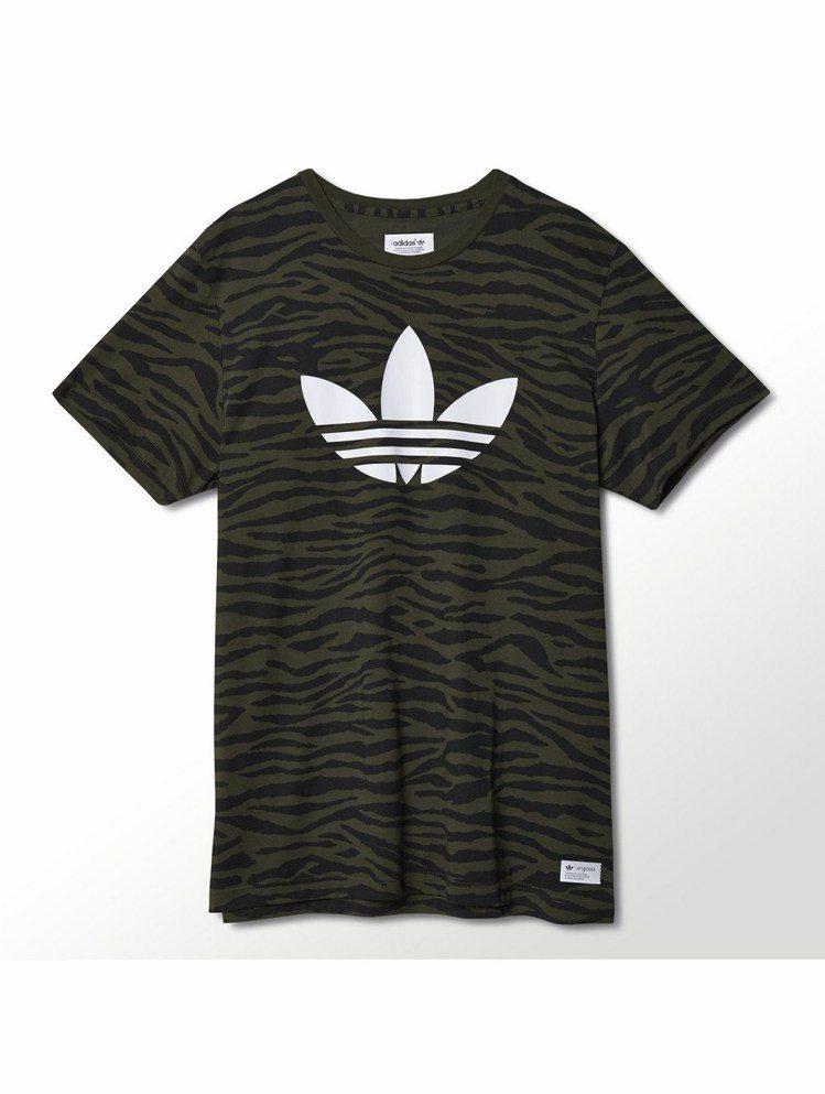 adidas Originals Logo T恤 NTD 1,890。圖/adi...