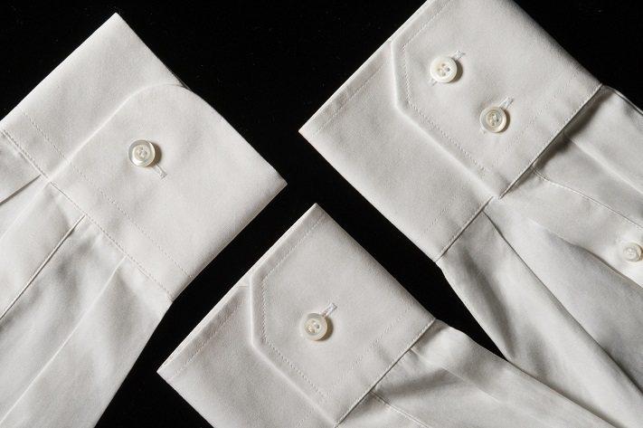 PRADA訂製襯衫可繡上個人名字縮寫。圖/PRADA提供