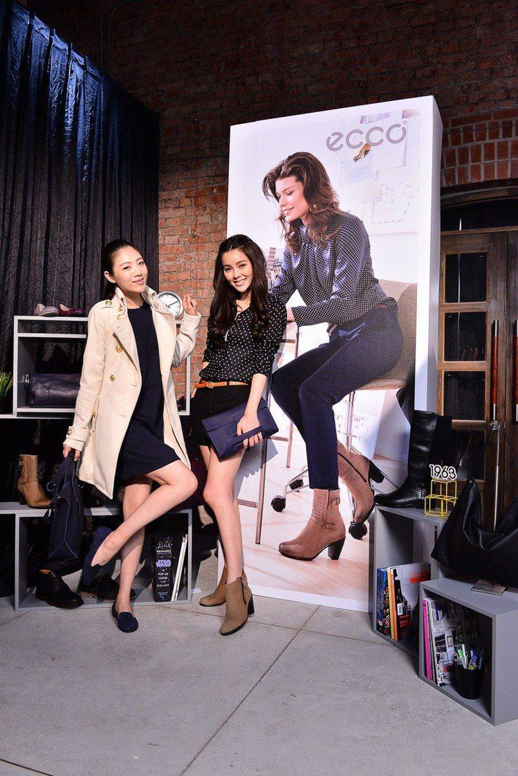 ECCO 2014 秋冬推出一周七天都能自在穿的美鞋時尚。圖/ECCO提供
