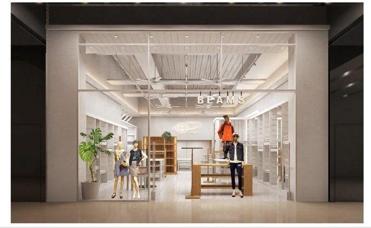 從去年6月進軍台灣的日本潮流服飾品牌Beams,前往台北百貨一級戰區,在信義誠品...