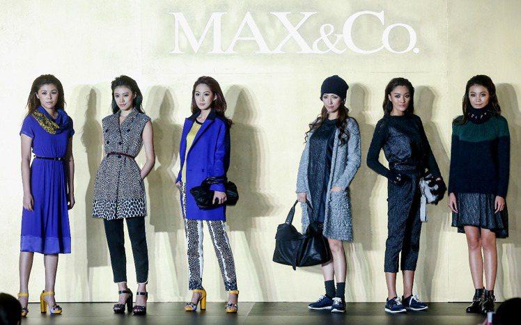 MAX&Co.展演針織、大衣、洋裝等秋冬新裝。記者程宜華/攝影