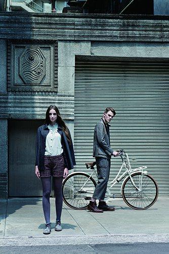以「復古單車騎士」作為靈感的品牌-Inheritance Map,在秋冬新裝系列...