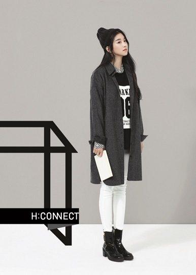 韓系服裝品牌H:CONNECT,有文青的味道。圖/H:CONNECT提供