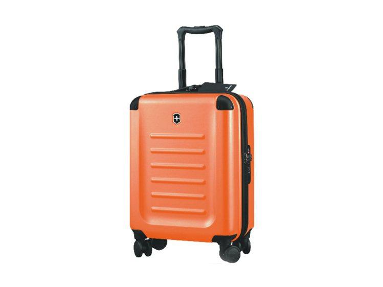 亮橘色萬聖節推薦款Spectra 2.0旅行箱,售價1萬3700元。圖/VICT...