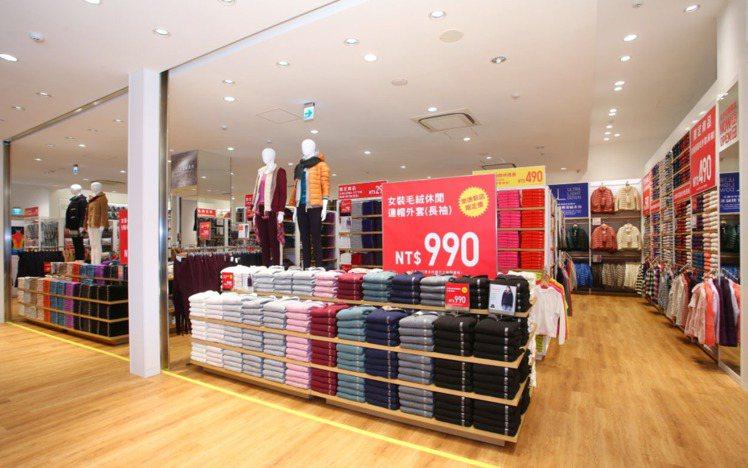 UNIQLO今崇德街邊店開幕,台中六店同步推優惠。 圖/UNIQLO提供