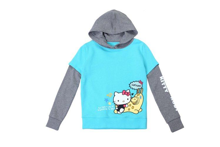 Hang Ten童裝- Hello Kitty x Rody聯名系列-Color...