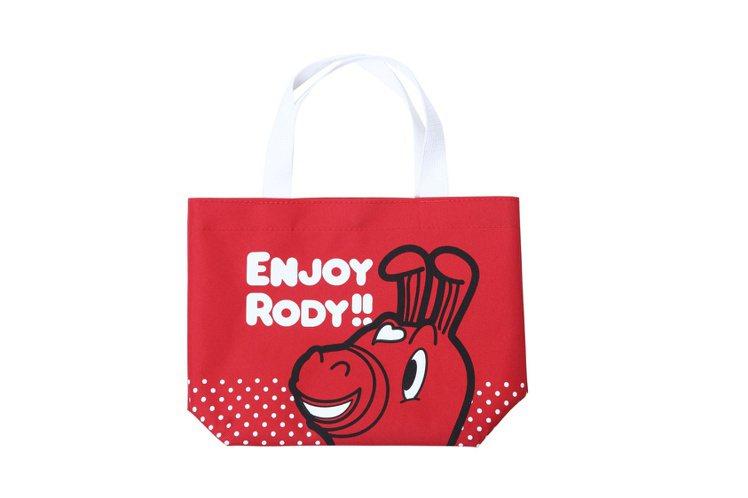 Hang Ten 限定Rody提袋(紅)。圖/Hang Ten提供
