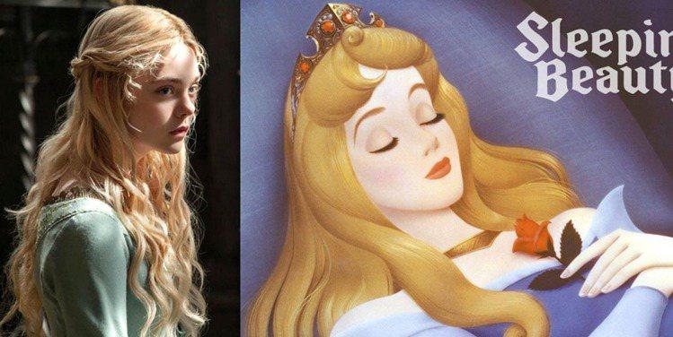 《黑魔女之沉睡魔咒》,艾兒芬妮飾演的睡美人歐若拉一角也非常搶鏡。在奇幻主軸與暗黑...
