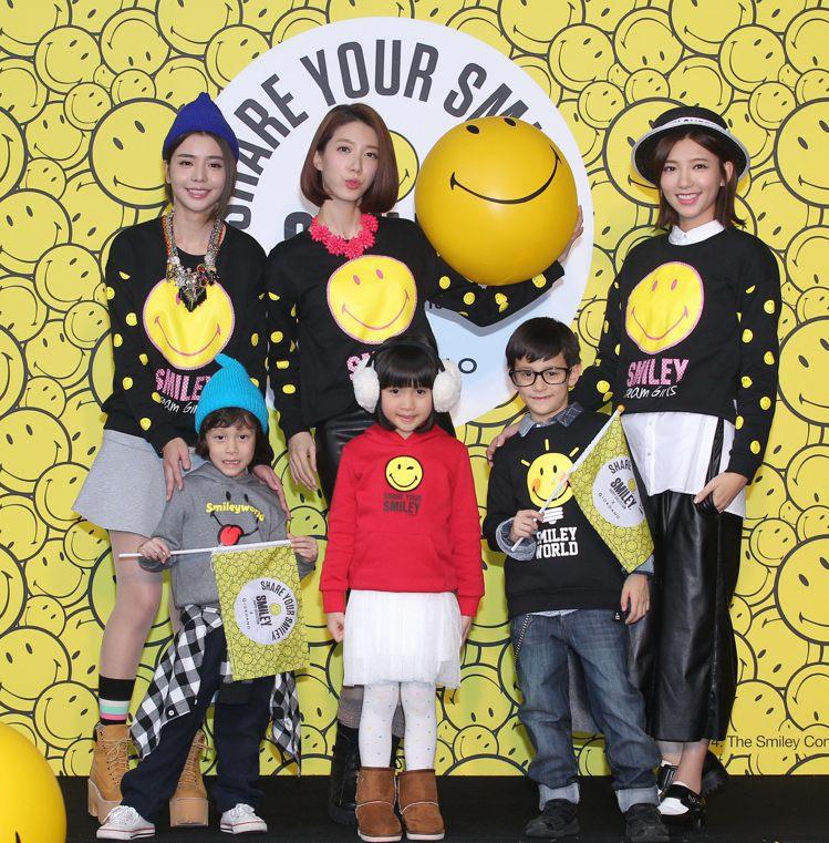 Dream Girls昨穿GIORDANO聯名設計T-Shirt亮相。圖/GIO...
