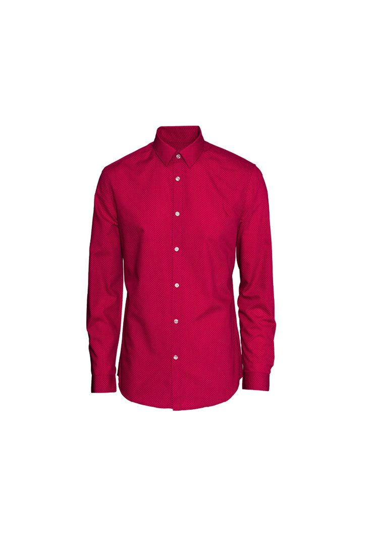 H&M新春系列男士襯衫。圖/ H&M提供