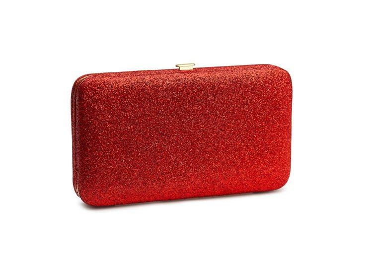 H&M新春系列手拿包。圖/ H&M提供