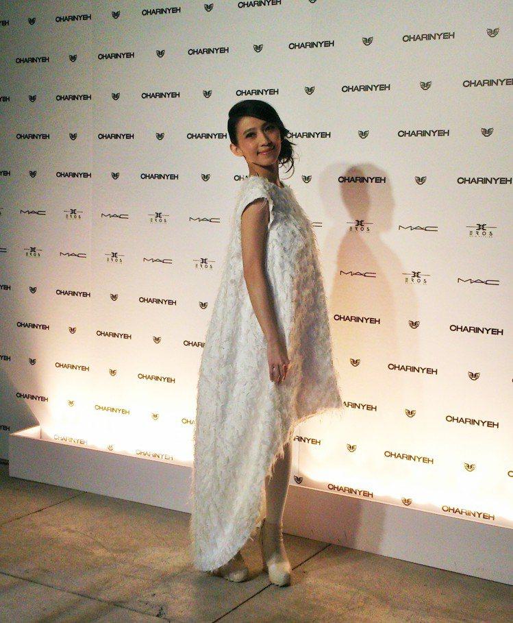 藝人戴佩妮出席葉珈伶 2015 春夏服裝秀。圖/記者陳于婷攝影