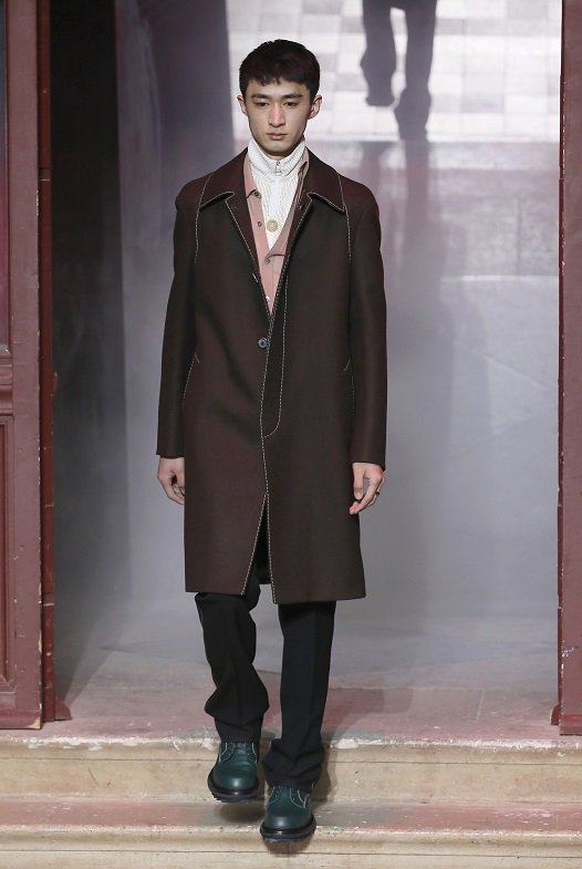 LANVIN男裝掀起男裝的革命性風潮。圖/法新社