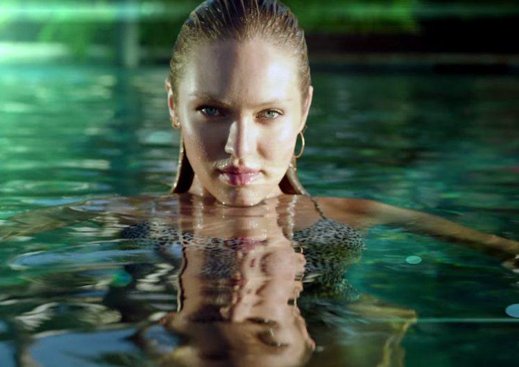 維多利亞的秘密請來多位內衣超模拍攝泳裝秀預告,讓粉絲大吃冰淇淋。圖/擷自yout...
