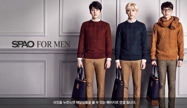 SPAO的品牌代言人是Super Junior和f(X),有了超級韓星加持,來勢...