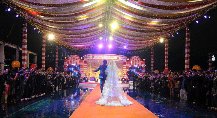 周杰倫在台北W HOTEL補辦婚宴。圖/杰威爾提供