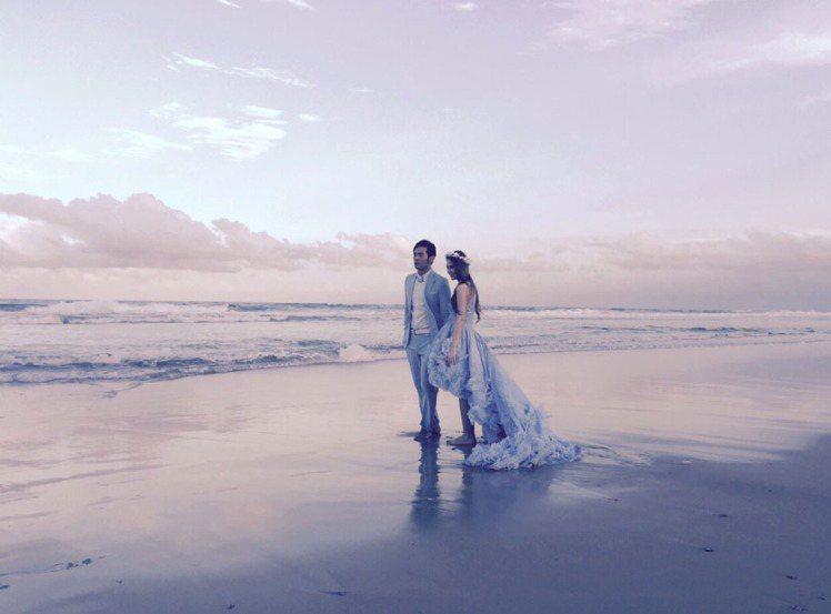 周杰倫與昆凌在澳洲黃金海岸補辦歸寧宴。圖/杰威爾提供