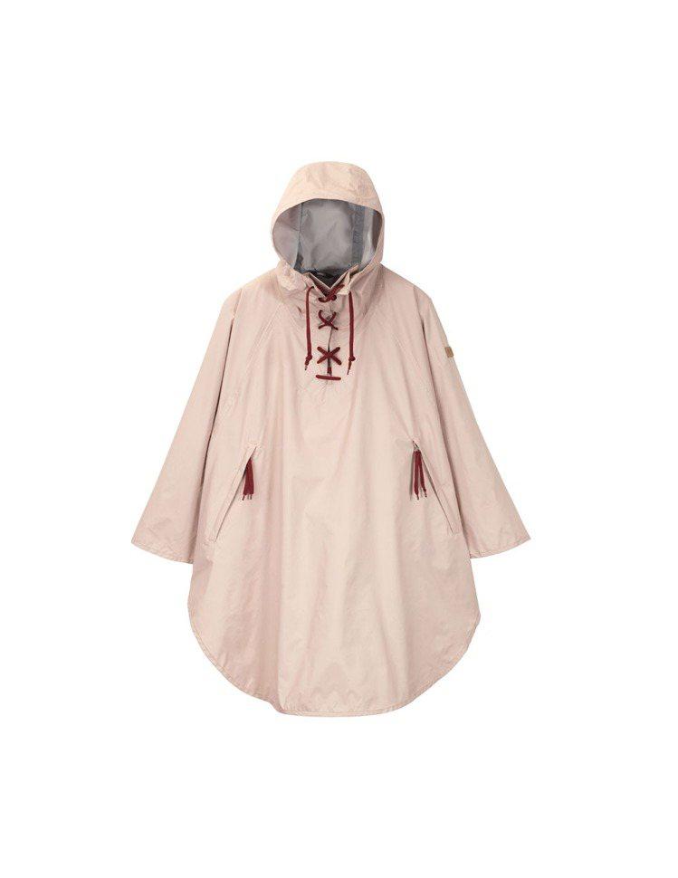 女MTD防水透氣斗篷,4,800元。圖/AIGLE提供