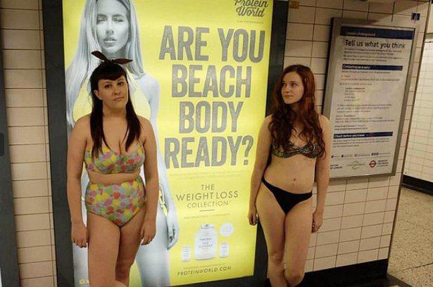 難道海灘是一個禁止胖子、水桶腰、肉肉人進入的地方?夏天一定得露出結實苗條的身材嗎...