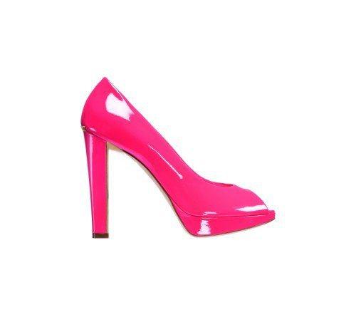 Dior漆亮面高跟鞋。圖/Dior提供
