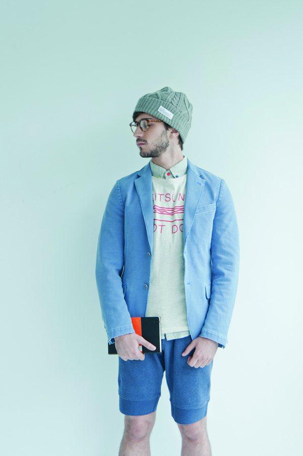 Shorts Style不妨來一點舒適的Easy風格,柔軟的Organic Co...