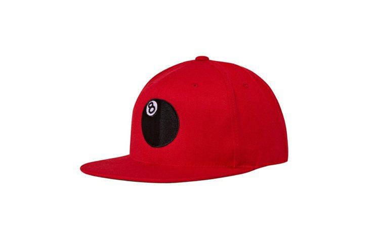Stussy Taipei 蛇年商品,8 ball cap。圖/STUSSY T...