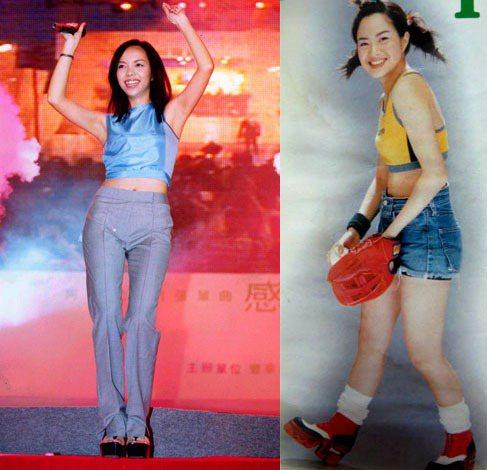 台灣也有許多厚底迷,像是張惠妹、徐懷鈺等九○年代出道的藝人都曾踩著這種被稱為「矮...