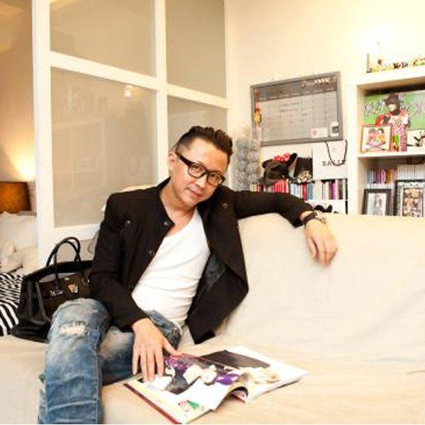服裝造型師劉大強。圖/she.com Taiwan提供